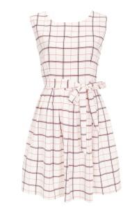 שמלה משובצת, 190 שח, להשיג ברשת חנויות האופנה מאיושה (שינקין 5 , בוגרשוב 32 ודיזינגוף 150 תל אביב), צלם דן מילר_resize